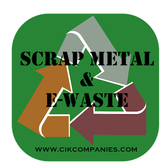 Scrap and e waste logo